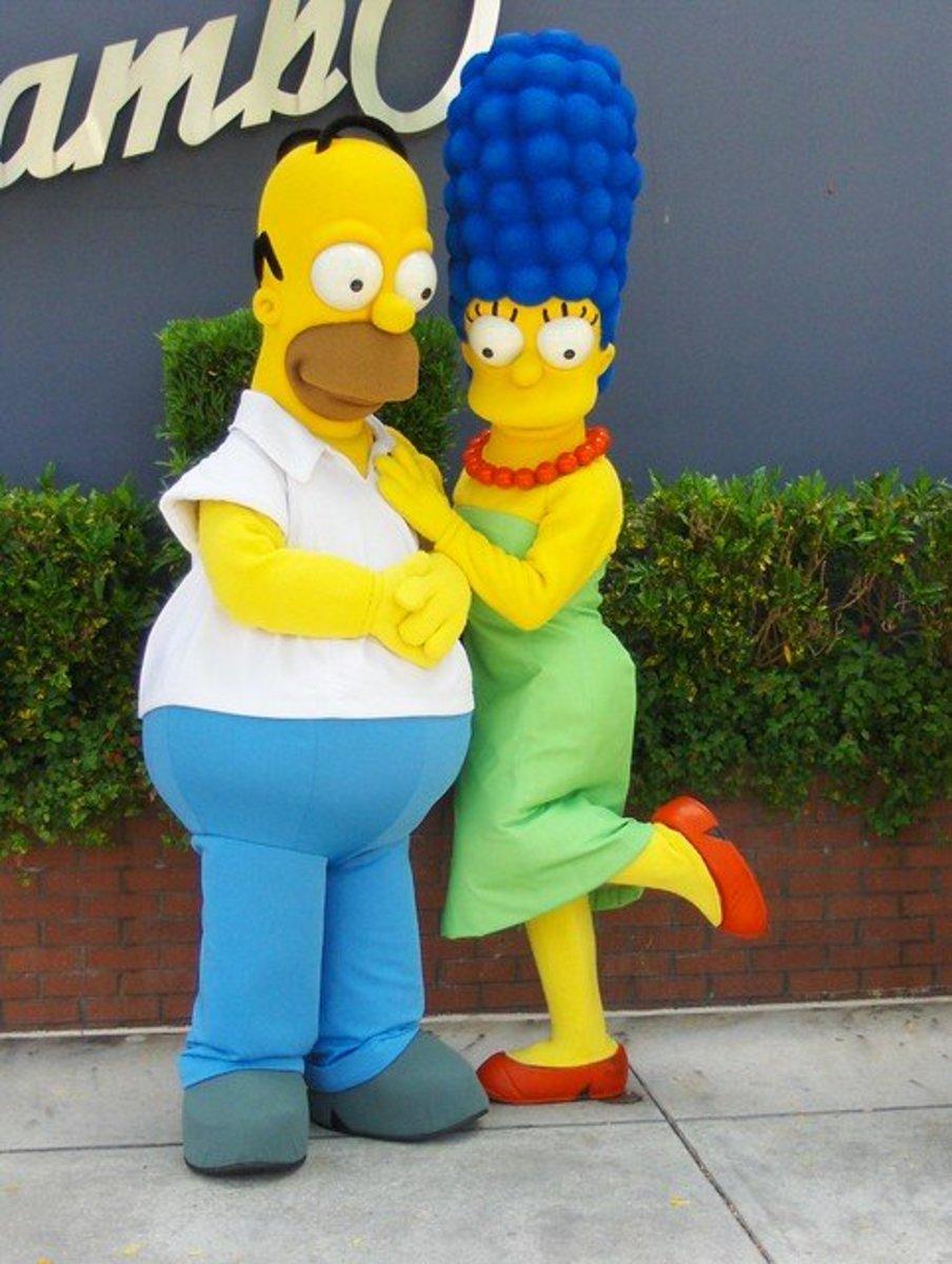 20 Best Cartoon Couples of TV
