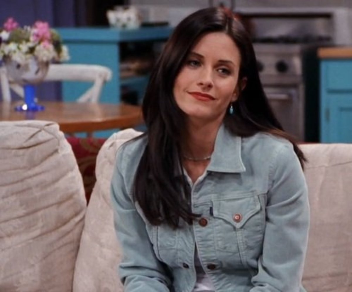 "The Hair(volution) of Monica Geller From ""Friends"""