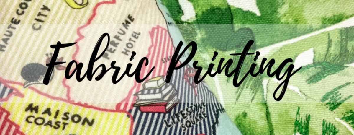 Fabric Printing & Types of Printing