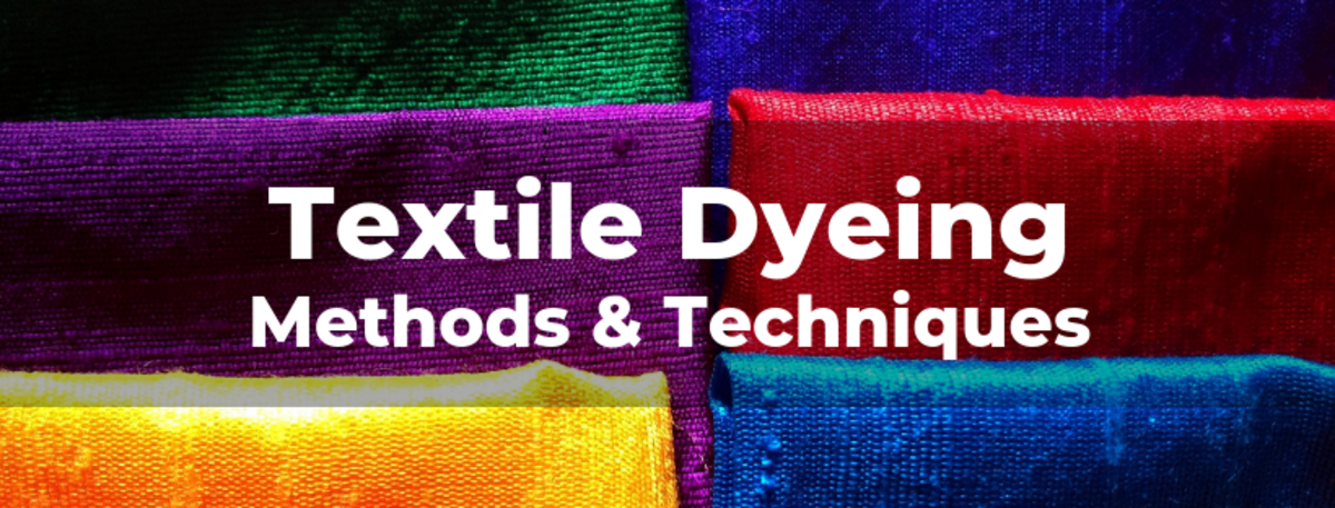 Textile Dyeing Methods & Techniques