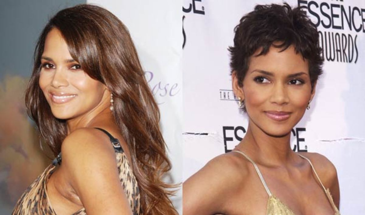 Celebrities: Long Hair vs. Short Hair