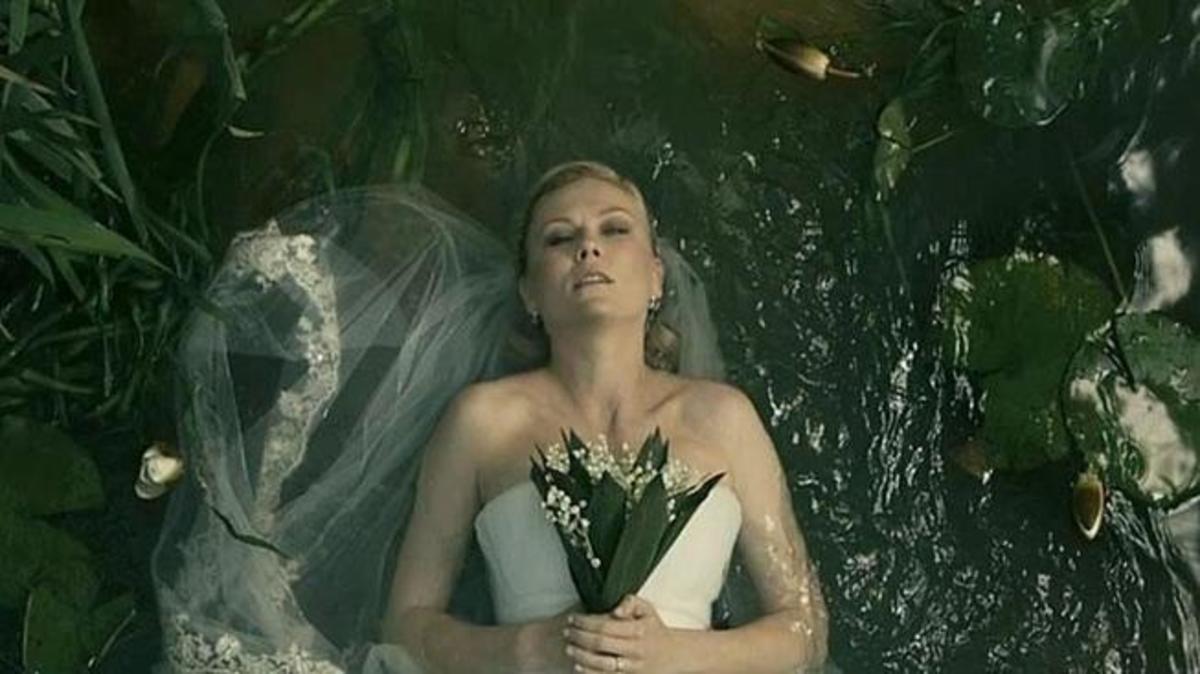 "Kirsten Dunst from ""Melancholia"""