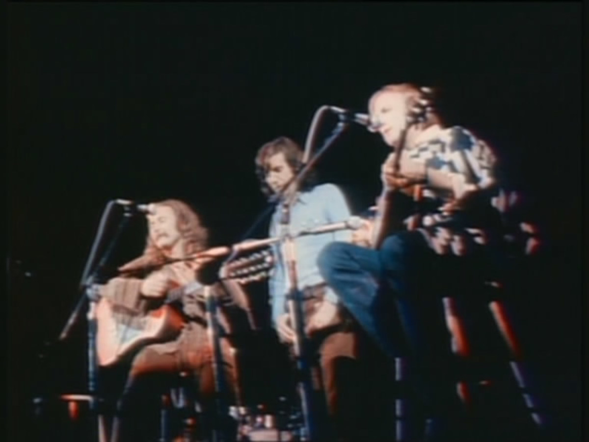 Woodstock Performers: Crosby, Stills & Nash (and Young)