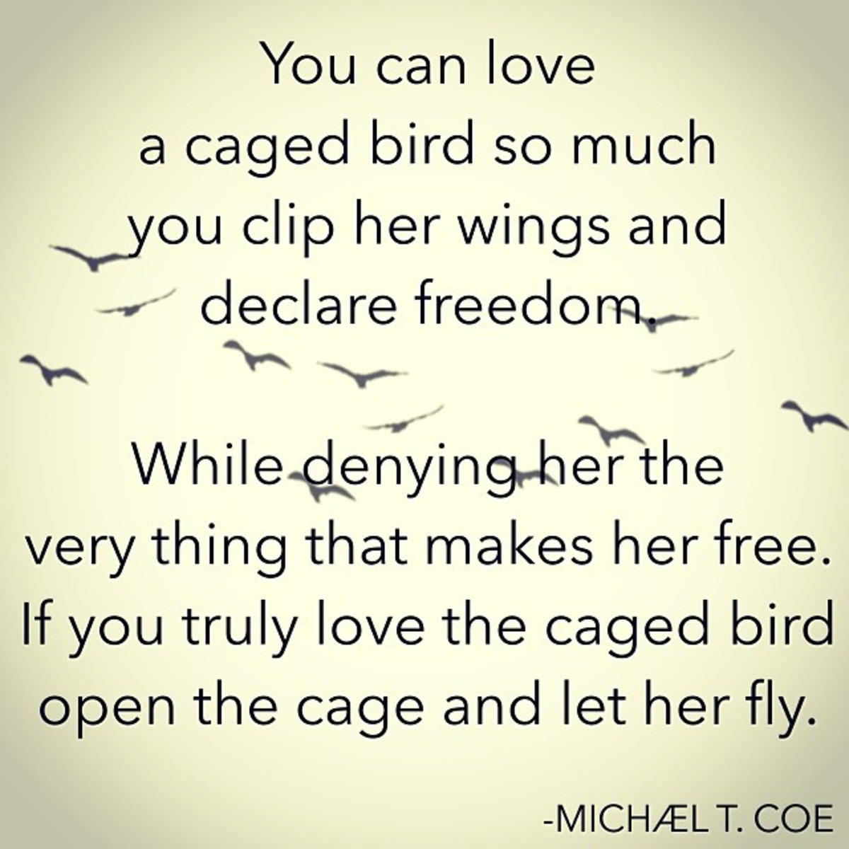 Caged Bird Quote