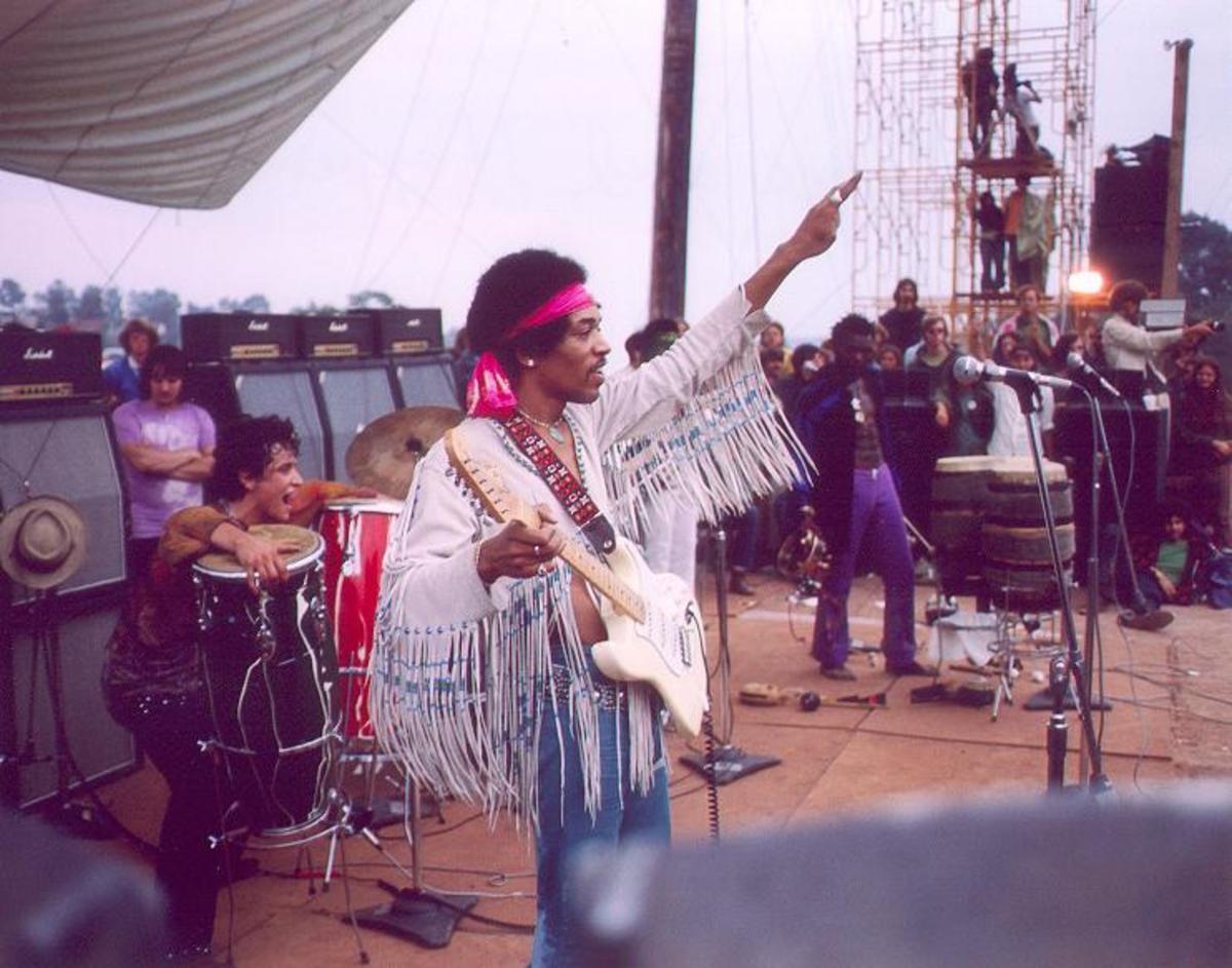 Woodstock Performers: Jimi Hendrix