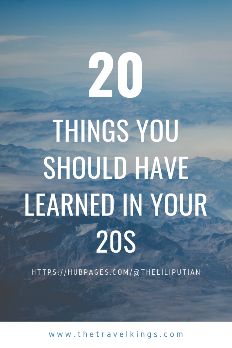 20 Things You Should Have Learned in Your 20s