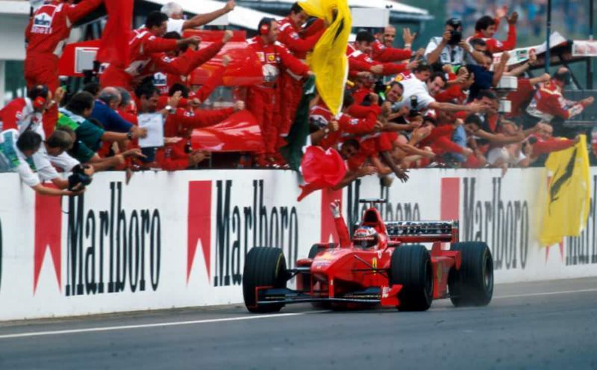The 1998 Hungarian GP: Michael Schumacher's 32nd Win