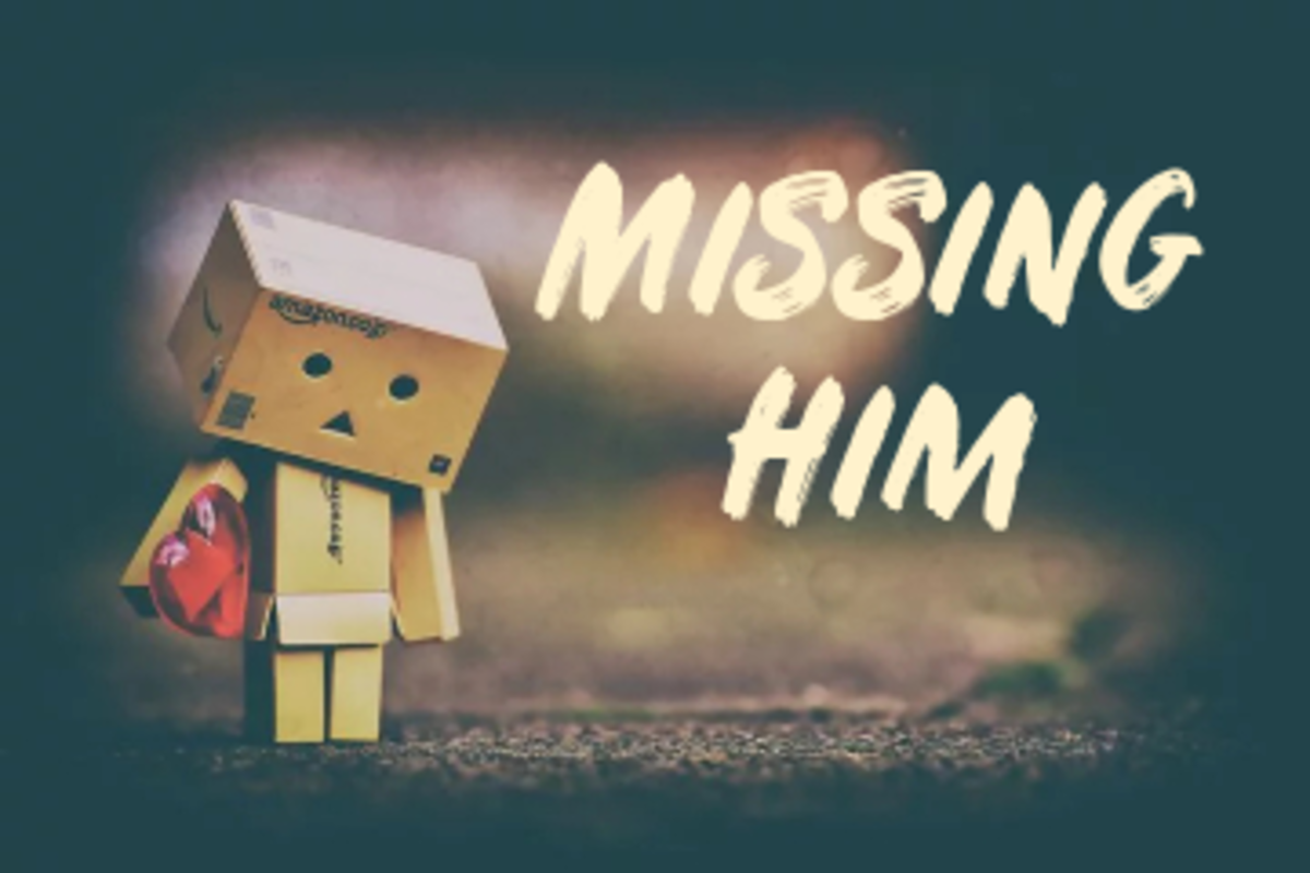 Poem: Missing Him