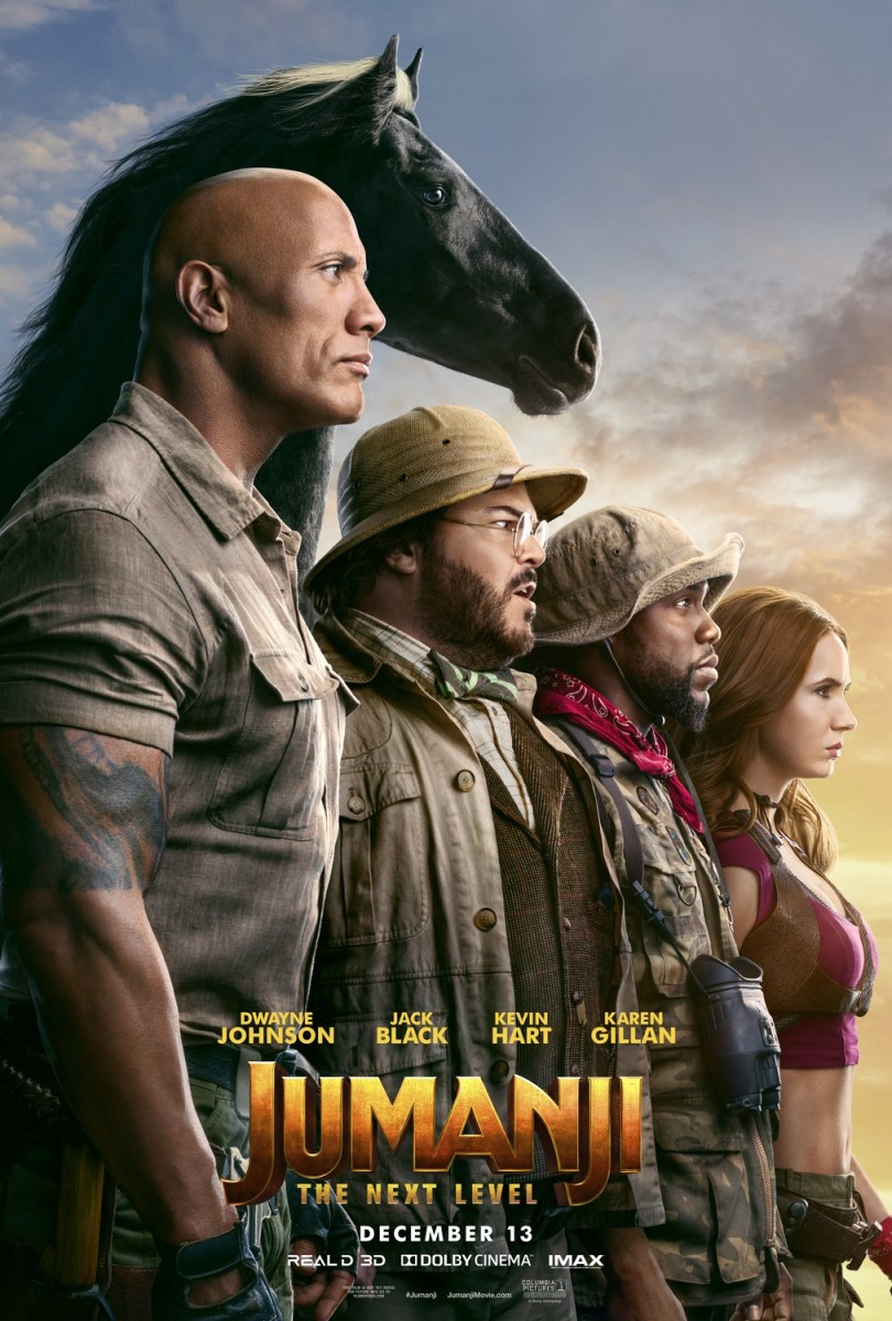 "Movie Review: ""Jumanji: The Next Level"""
