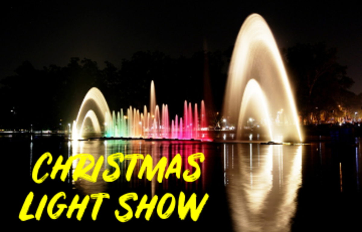 Poem: Christmas Light Show