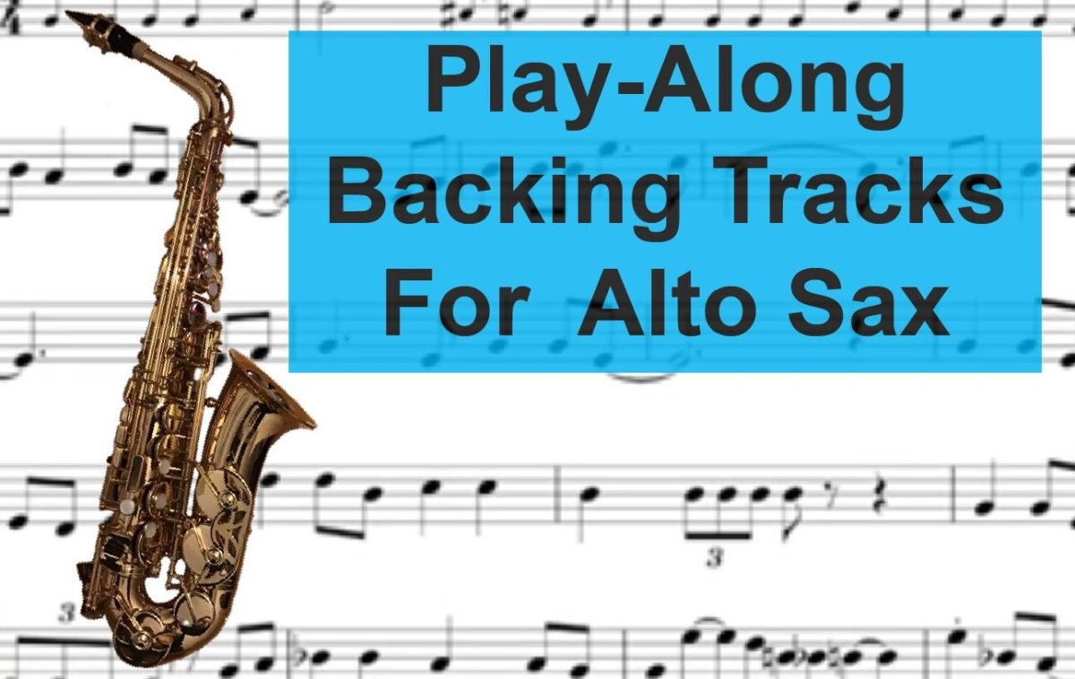 Fun Alto Saxophone Backing Tracks and Play-Alongs