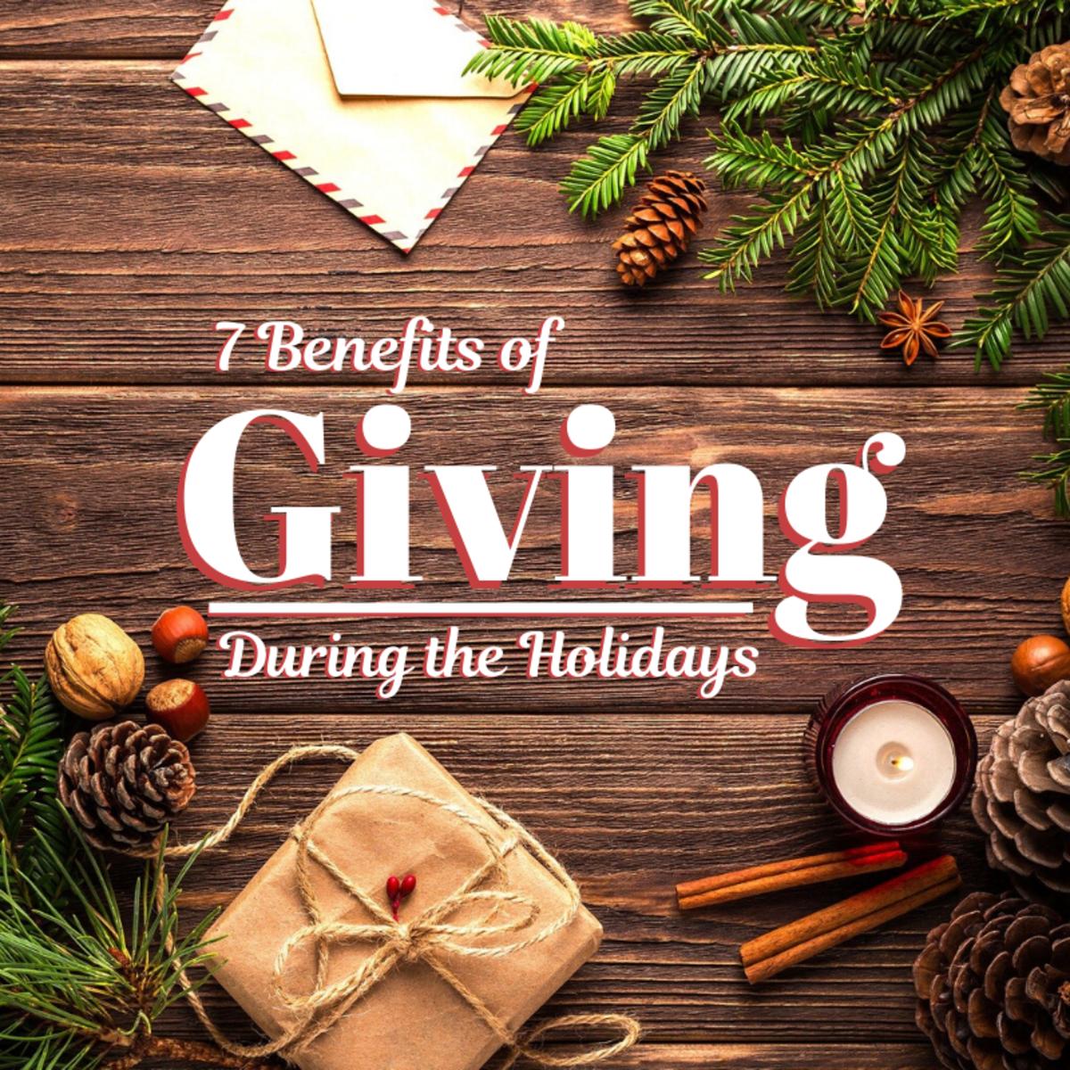 7 Benefits of Giving During the Christmas Season
