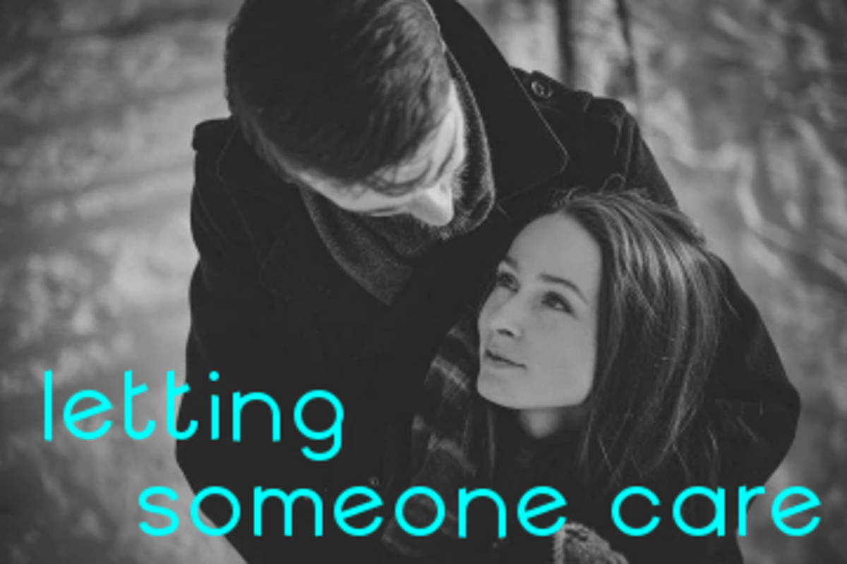 Poem: Letting Someone Care