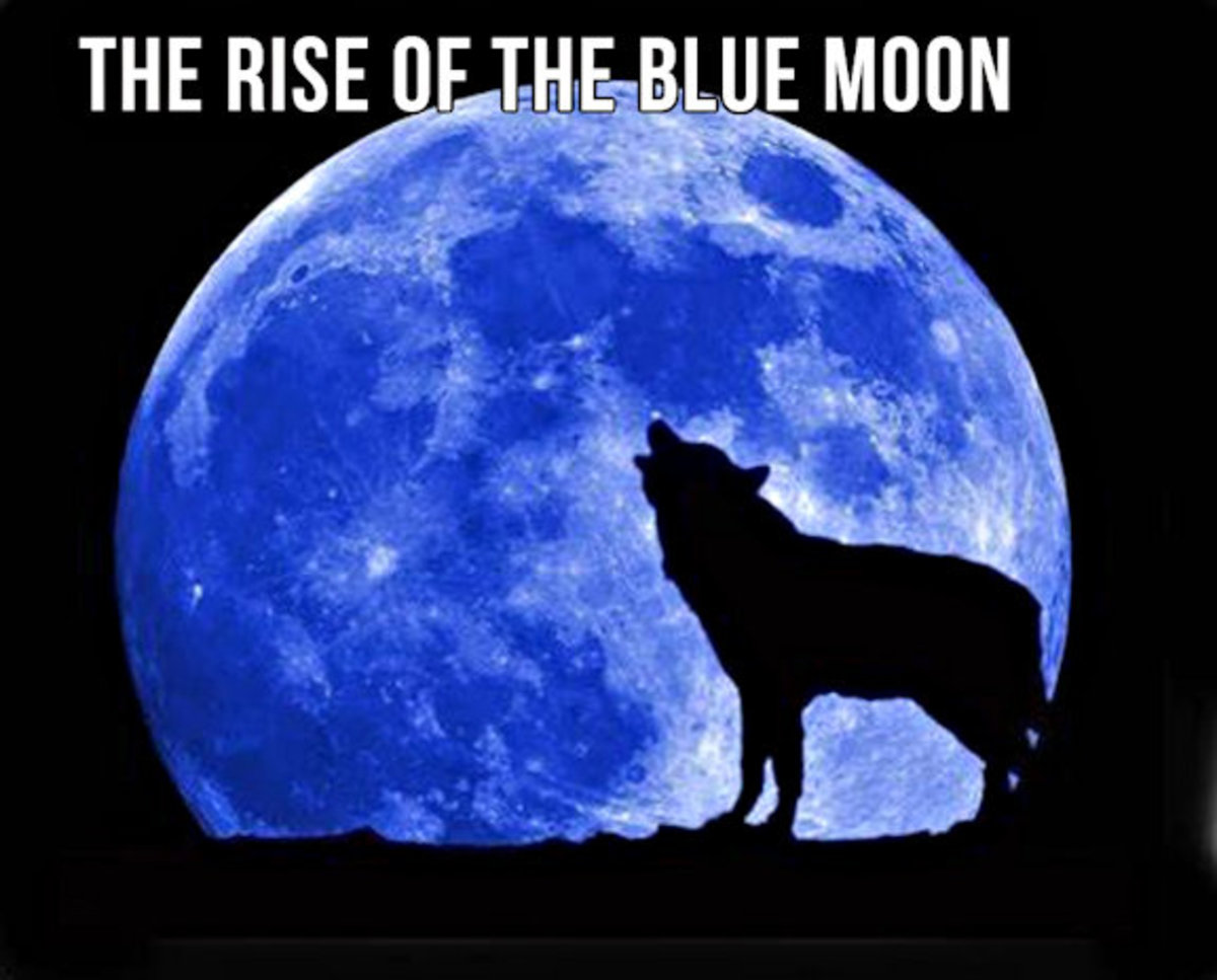 What secrets are concealed by the Blue Moon?
