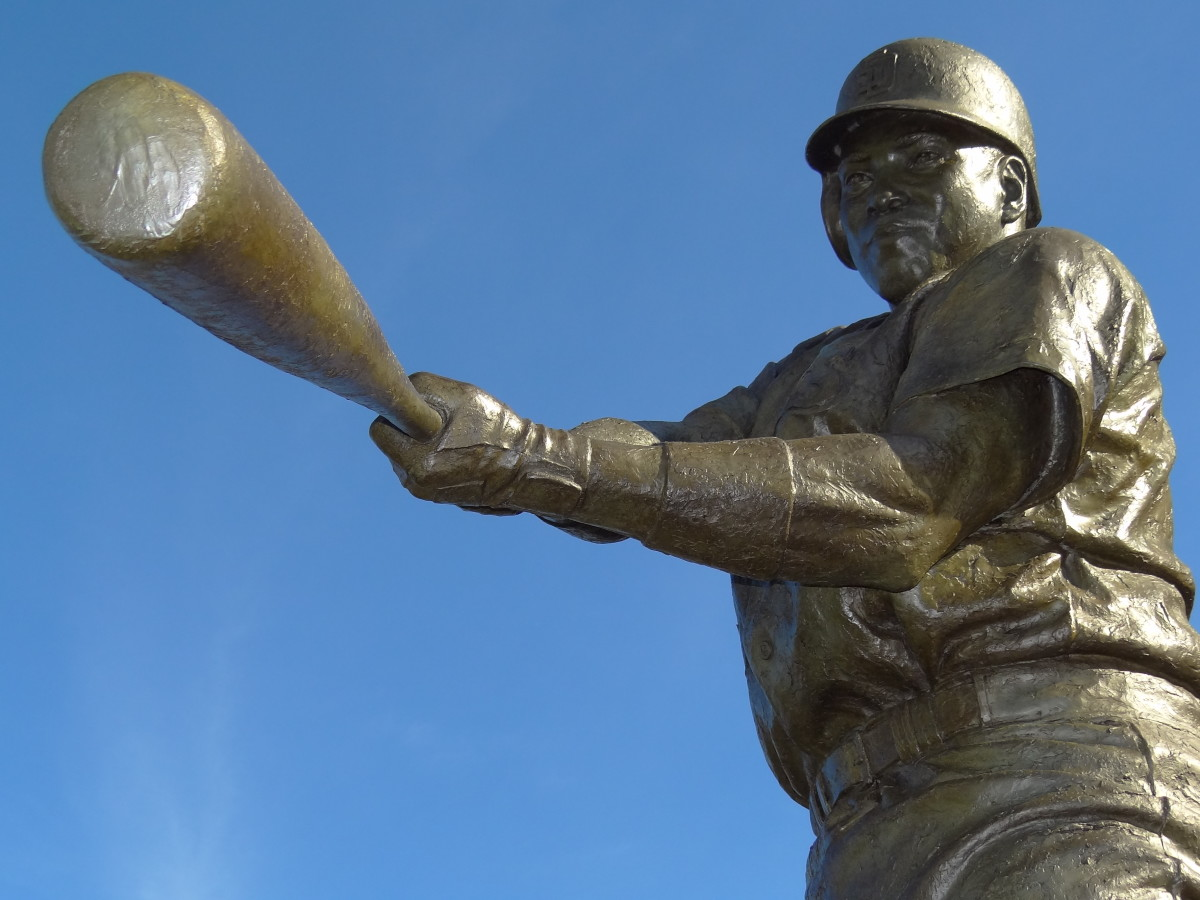 A statue of Tony Gwynn stands outside of Petco Park in San Diego. Gwynn played 20 seasons with the San Diego Padres and was easily a first-ballot Hall of Famer.