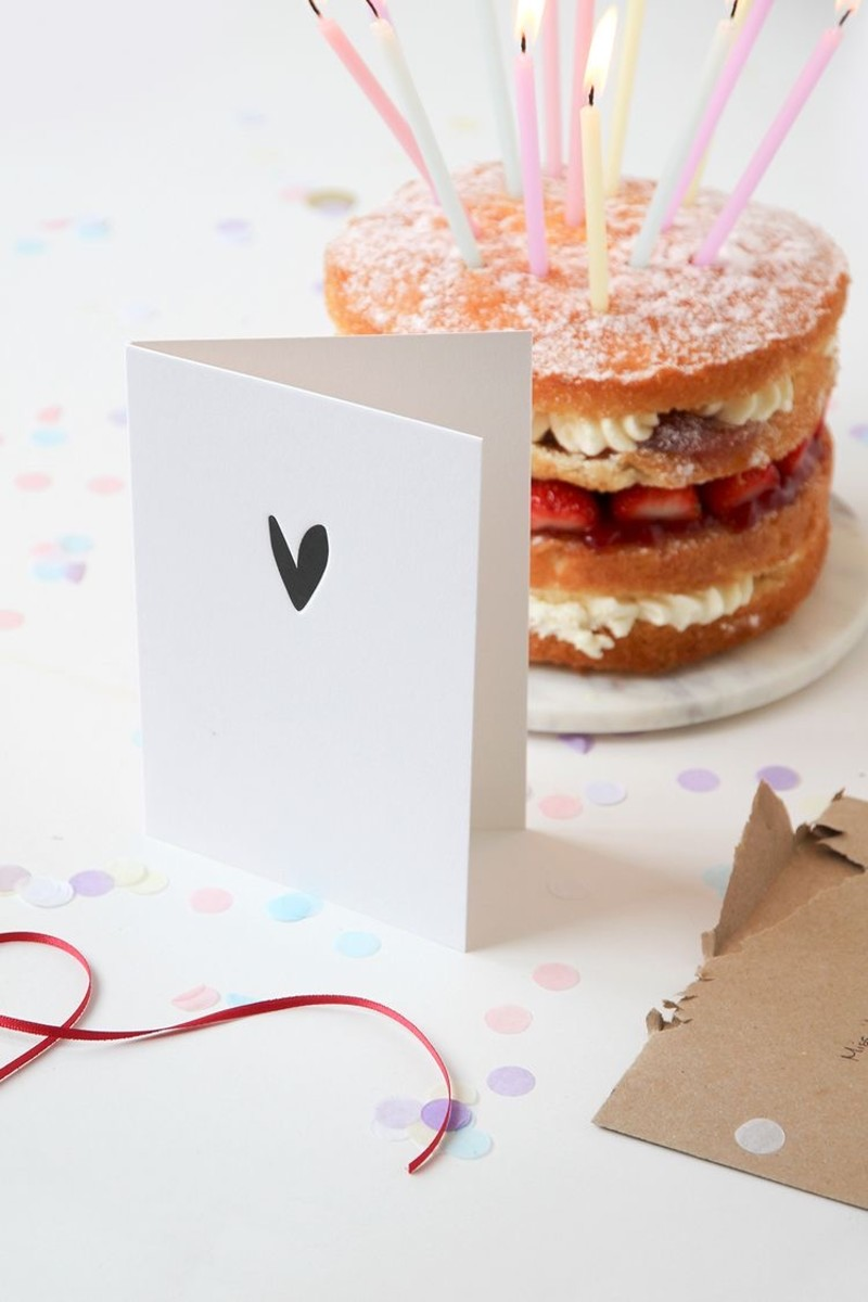 Greeting cards are a great way to mark a special occasion or convey thanks or condolences.