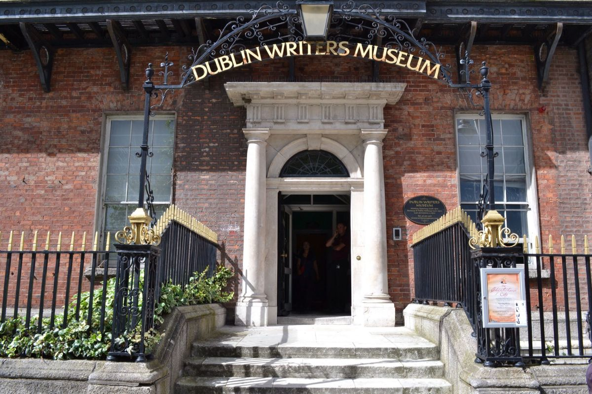 A visit to the Dublin's Writers Museum is a must for any literary-minded tourist!