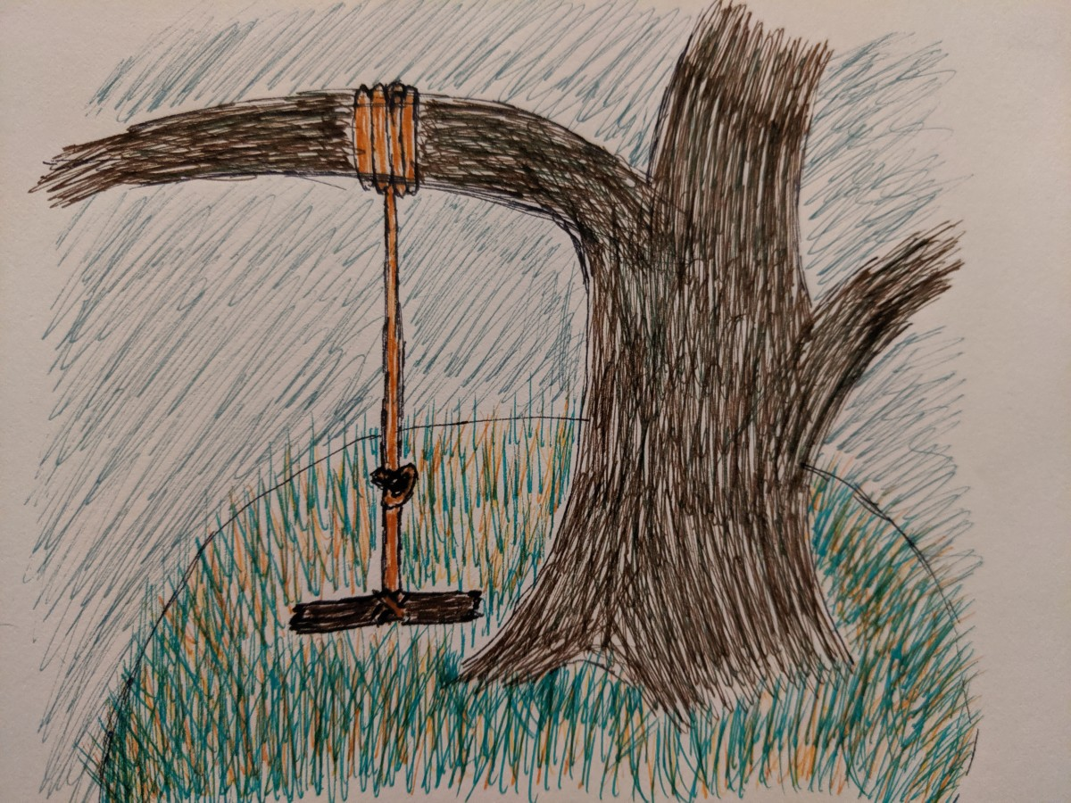 This is Pendulum Oak, a place in a story I am working on creating, a wonderful rope swing on the edge of a creek.