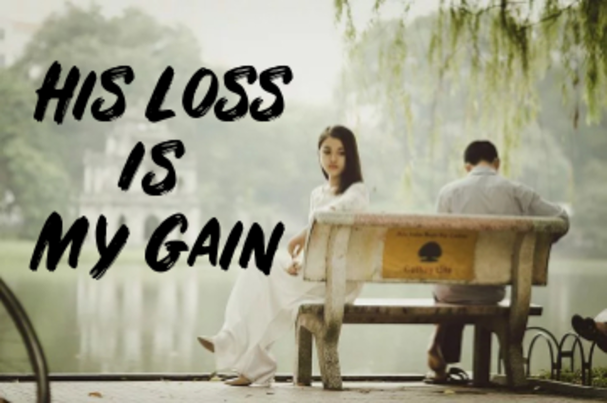 Poem: His Loss is My Gain