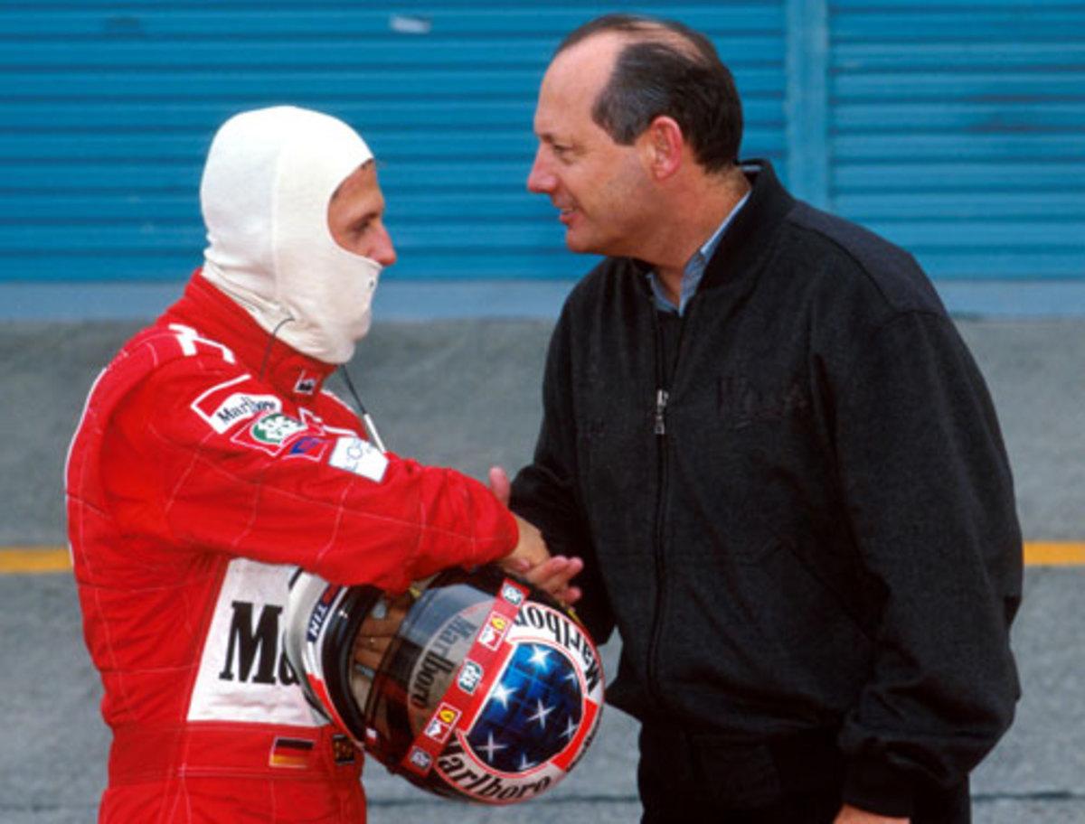 Did McLaren Boss Ron Dennis Ask Michael Schumacher to Meet Him?