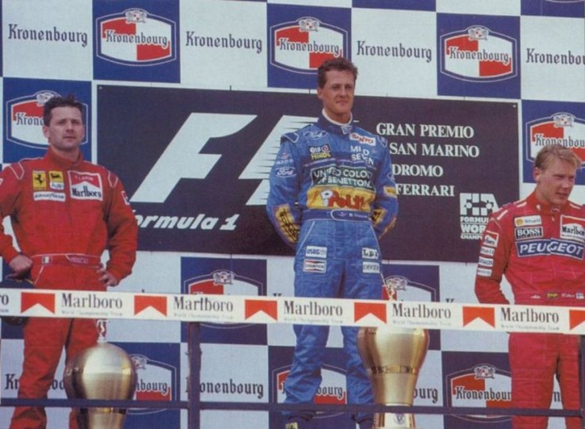 The 1994 San Marino GP: Michael Schumacher's 5th Win and Senna's Loss Forever