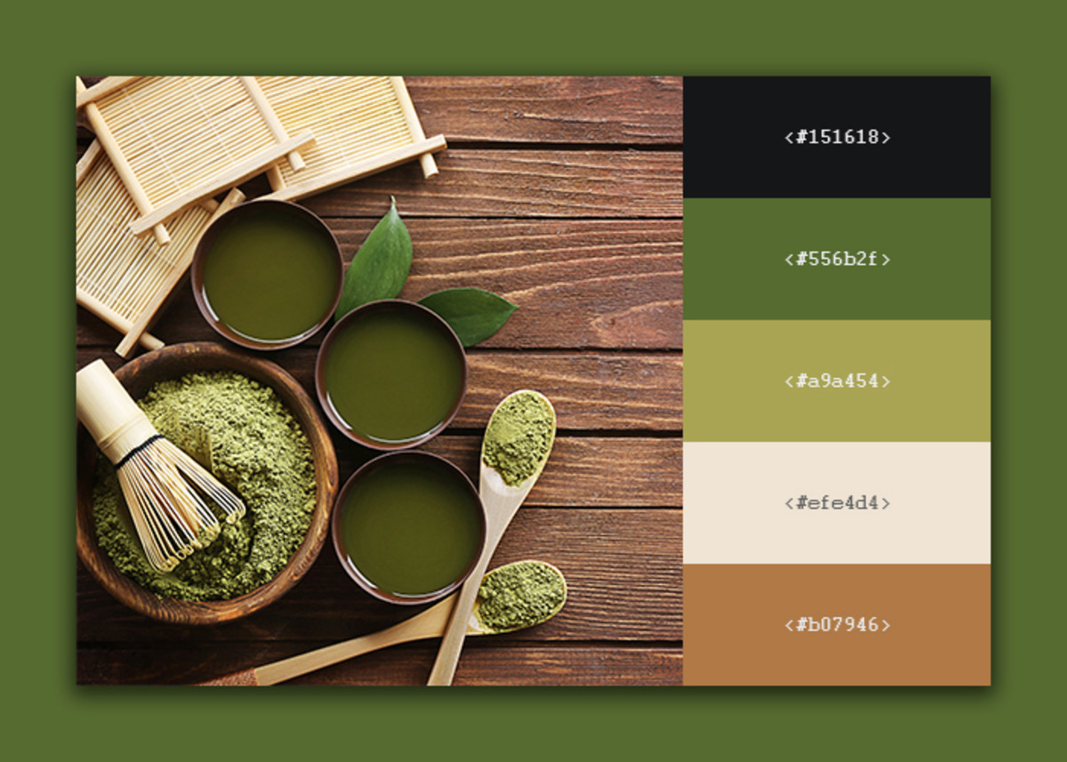 10 Beautiful Coffee/Tea Inspired Color Palette For Your Next Design