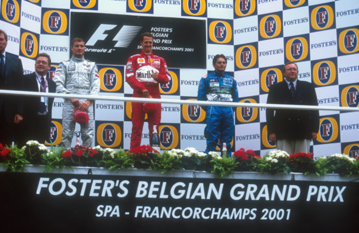 The 2001 Belgian GP: Schumacher's 52nd Win – Gone Where No Man Had Gone Before!