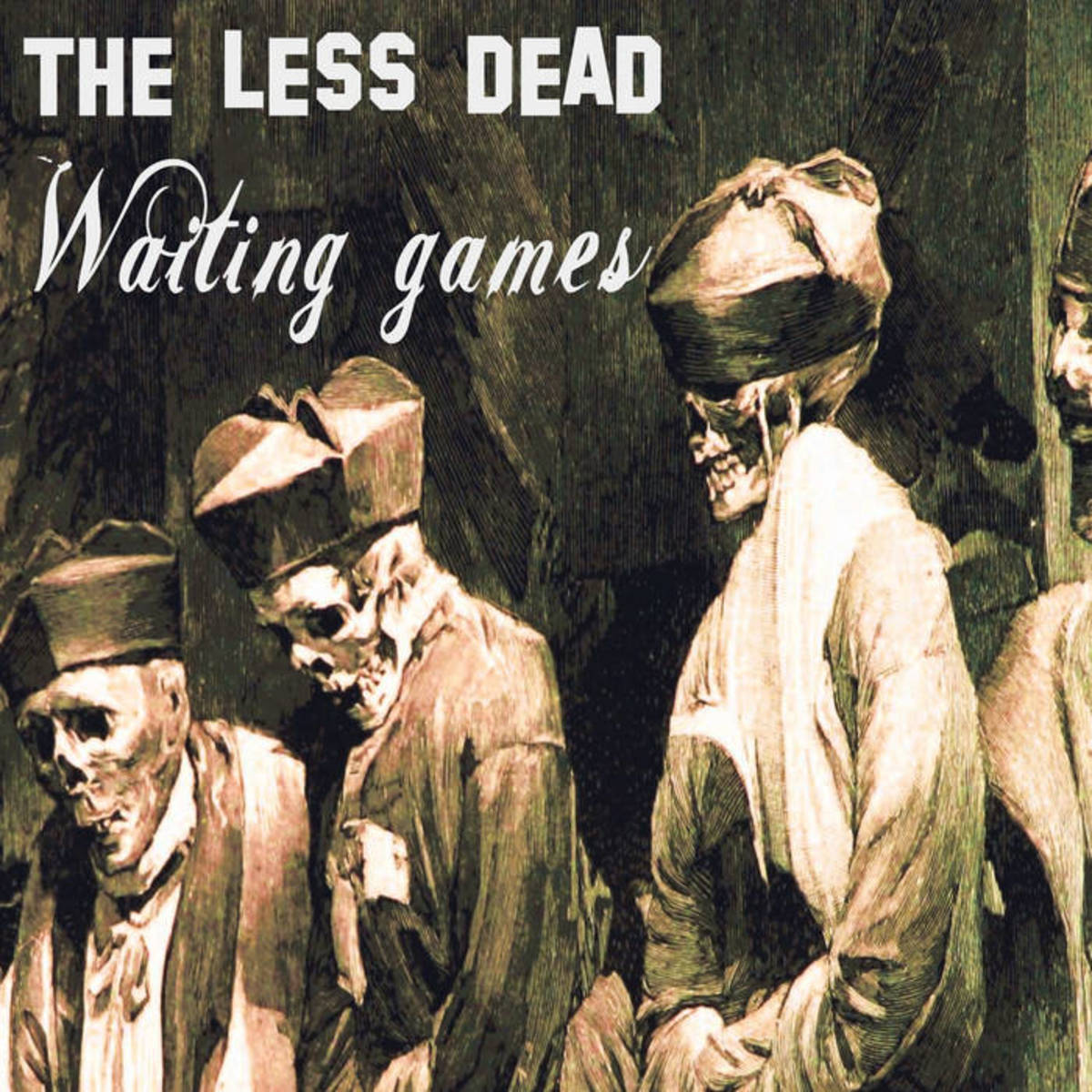 "Art for The Less Dead's new single, ""Waiting Games"""