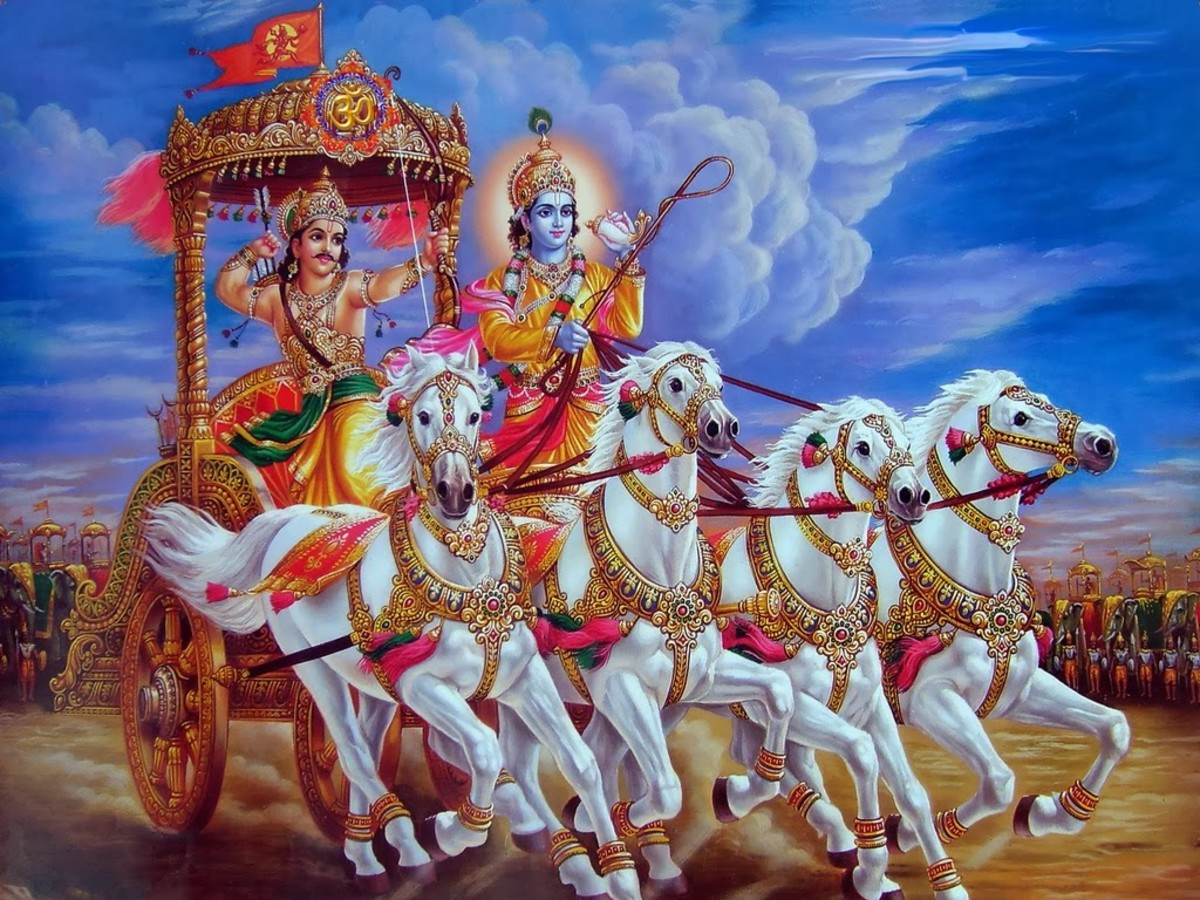 A Glimpse Into the Bhagavad Gita, Part 1 (The Song Celestial) Thursday's Homily for the Devout 10