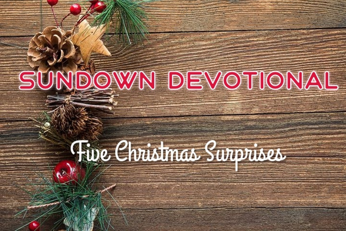 Sundown Devotional: Five Christmas Surprises