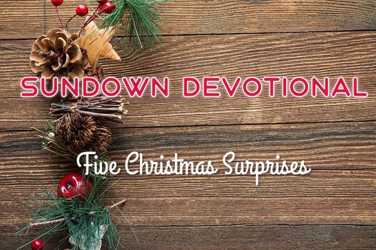 Sundown Devotional: Five Christmas Surprises