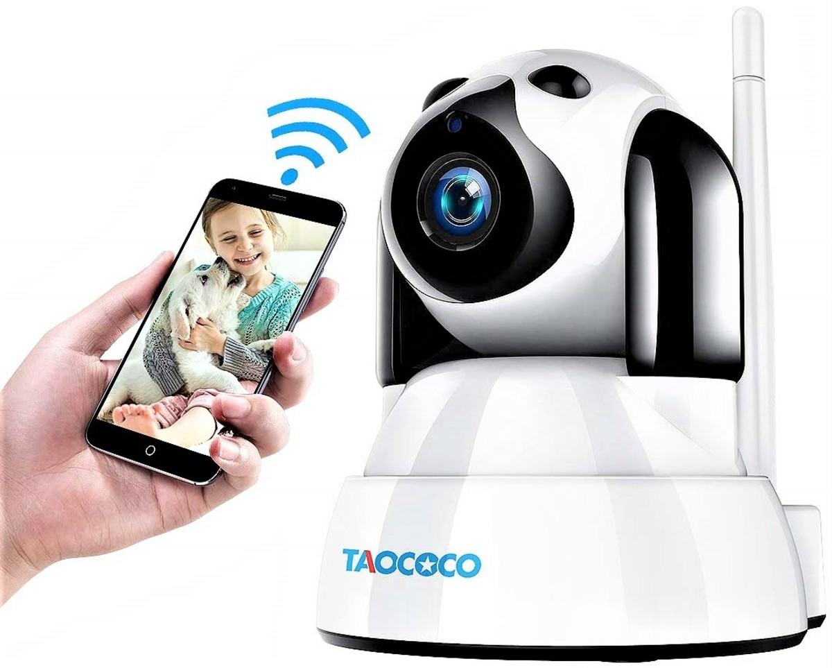 Taococo Dog Camera IP Wireless Security Baby Monitor