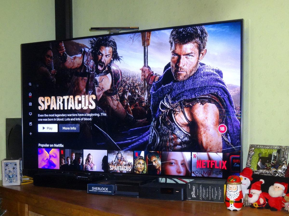 55 inch Samsung QLED TV