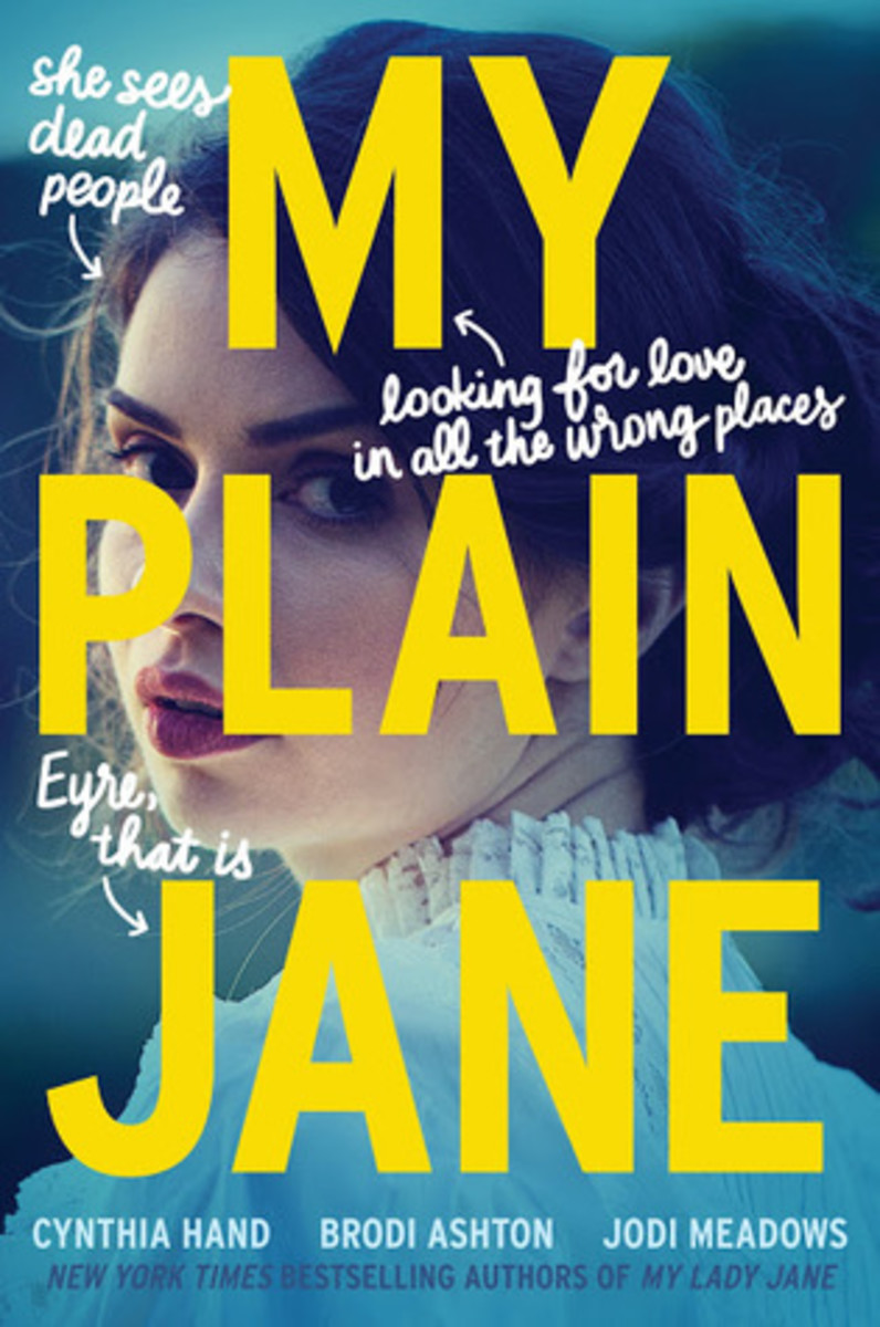 Nothing Plain Here! Take a look at the cover for My Plain Jane