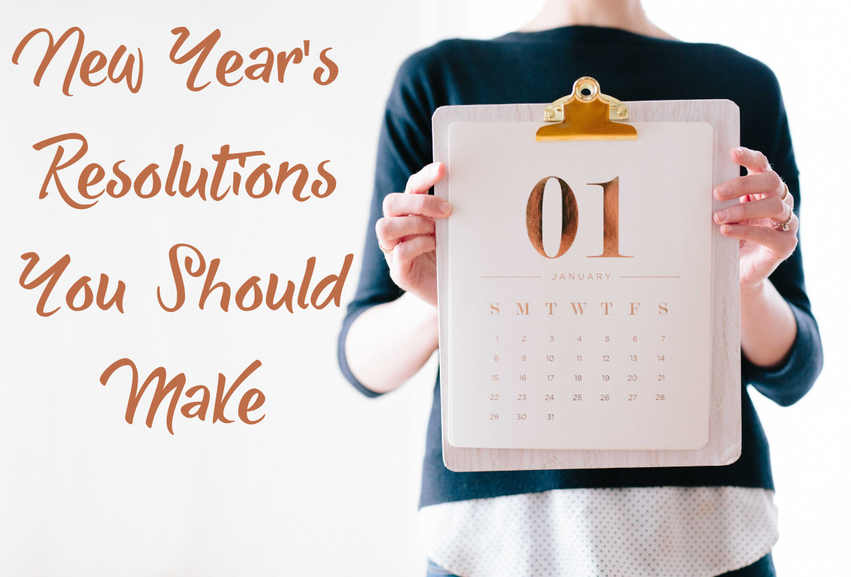 These long-term resolutions are based on making small choices every single day.