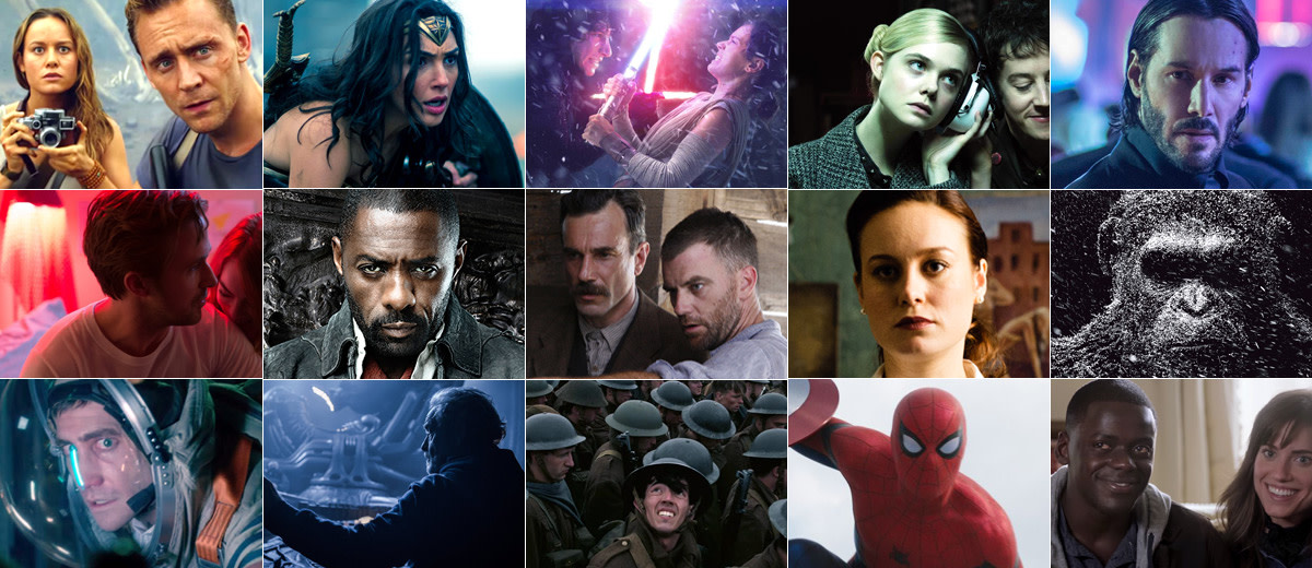 The decade has seen old franchises revived, new franchises created and the continuing rise of the superhero.