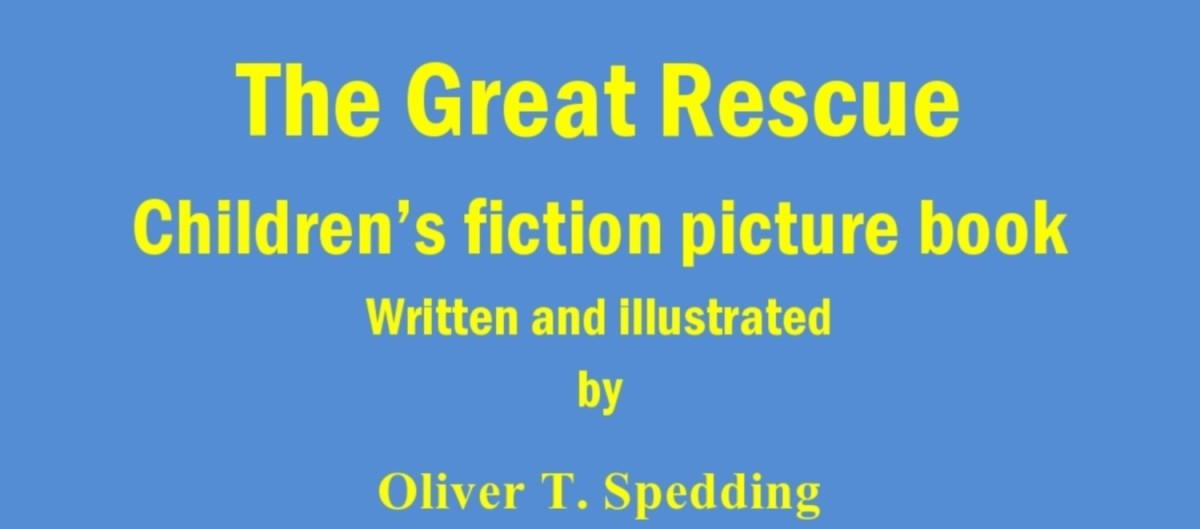 The Great Rescue - Children's Fiction Picture Book