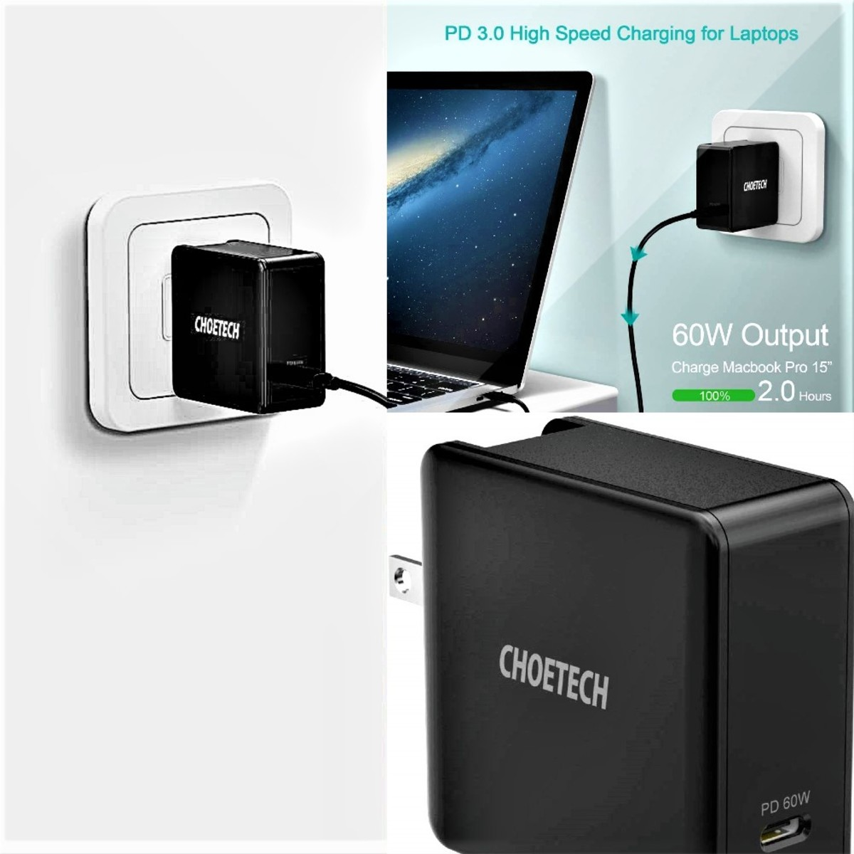 Choetech 60W Charger Review: An Ultra USB-C Adapter That Rapidly Charges Your Devices
