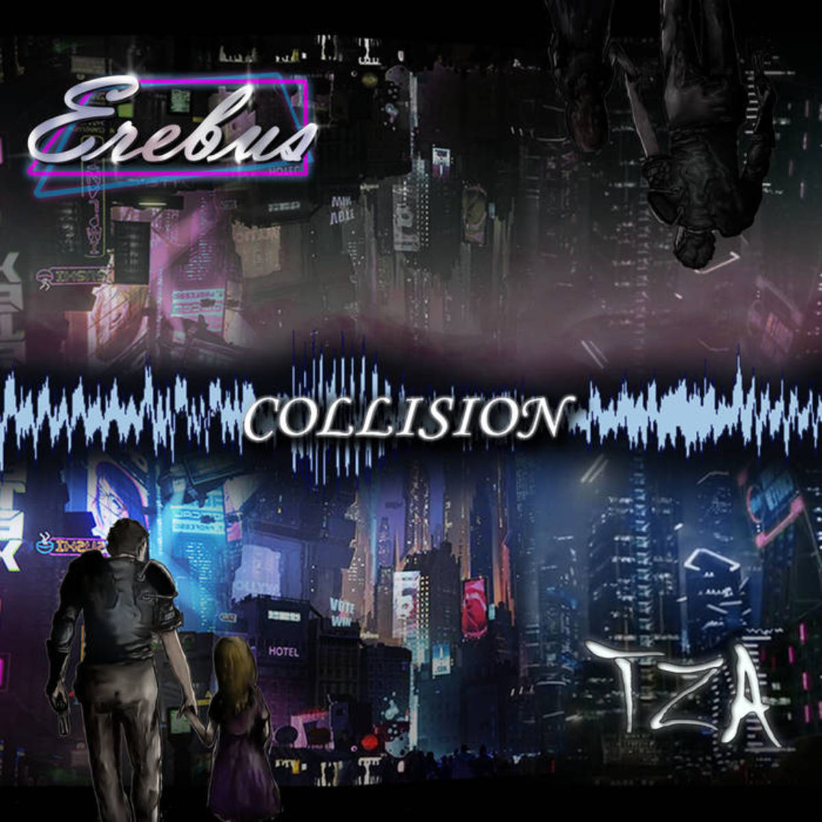 """Erebus, """"Collision"""" album cover"""