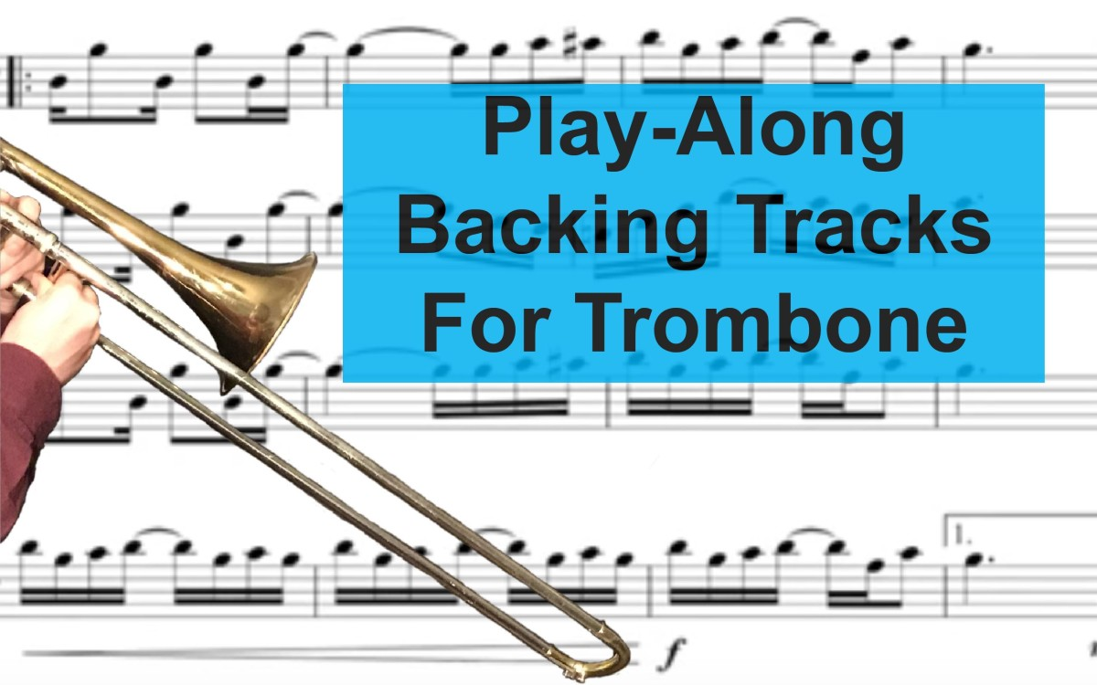 Fun Trombone Backing Tracks and Play-Alongs