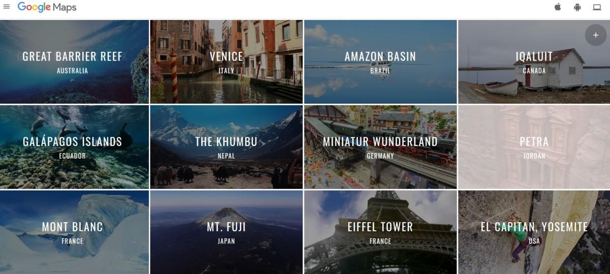 Explore Locations with Google Treks and Google Trekker