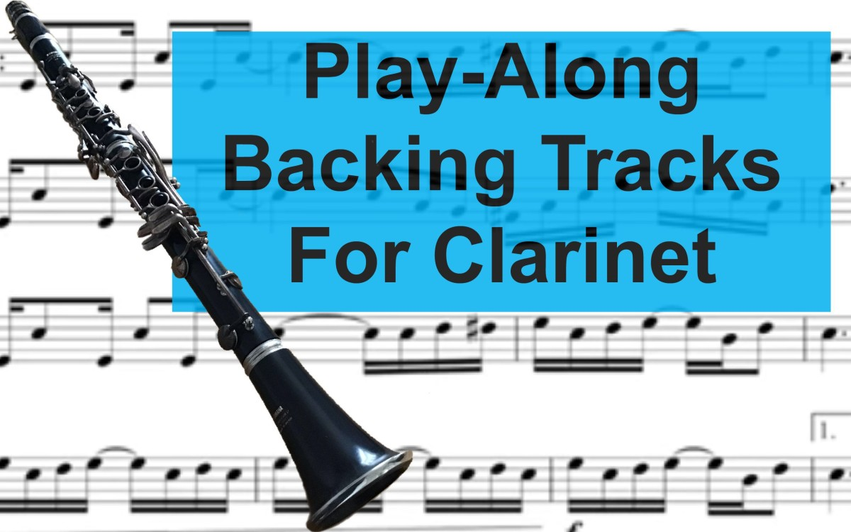 Fun Clarinet Backing Tracks and Play-Alongs