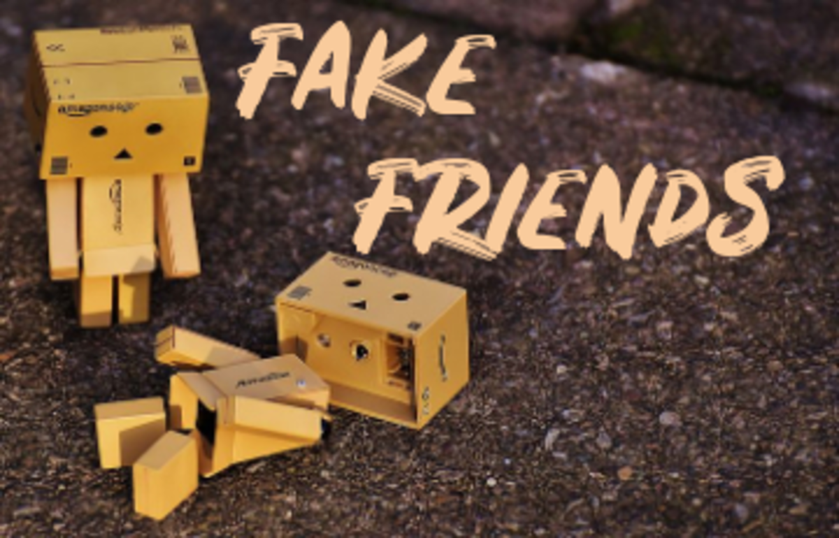 Poem: Fake Friends