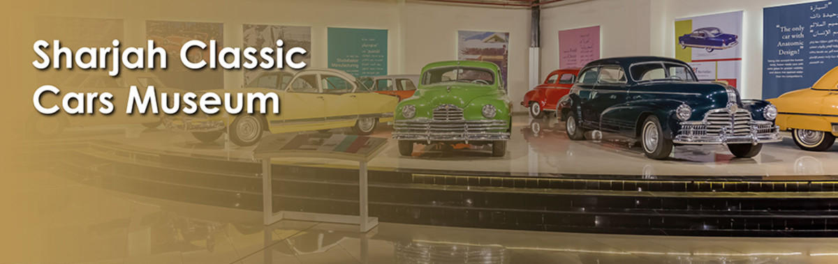 Visiting the Auto Museum in Sharjah, UAE