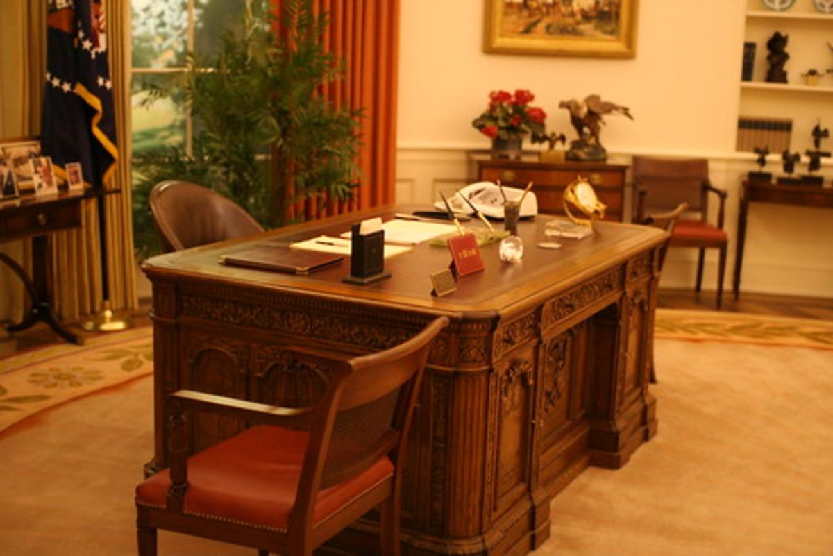 The Resolute Presidential Desk