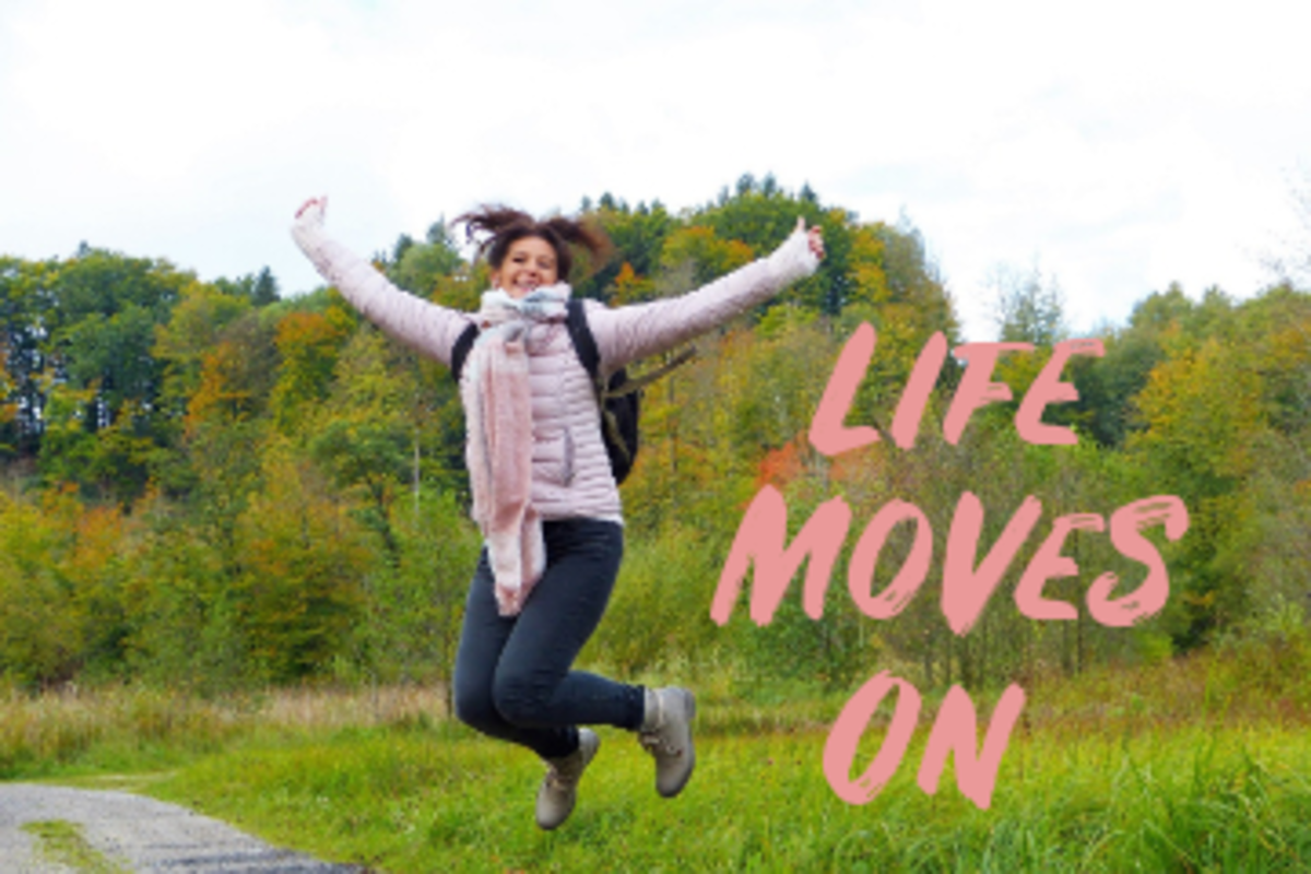 Poem: Life Moves On