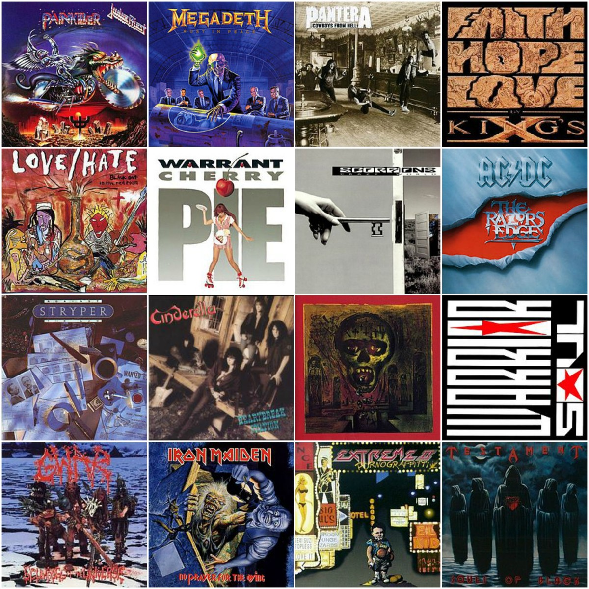 These Classic Hard Rock and Metal Albums are Turning 30 in 2020