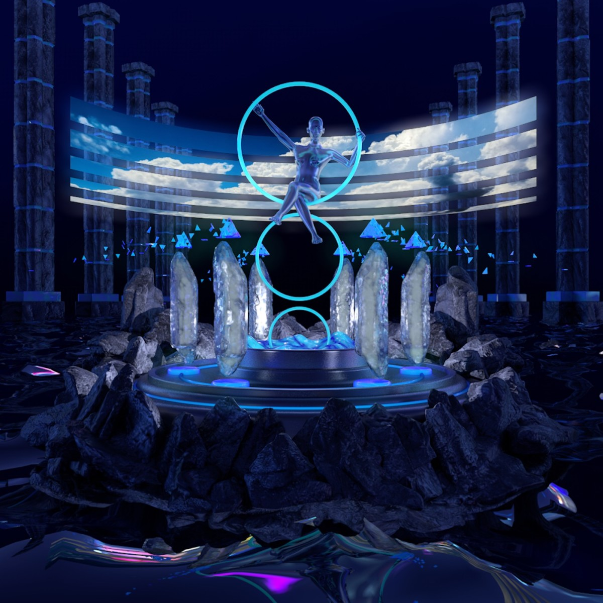Synth Album Review: 空YAMAHA , Inner Worlds