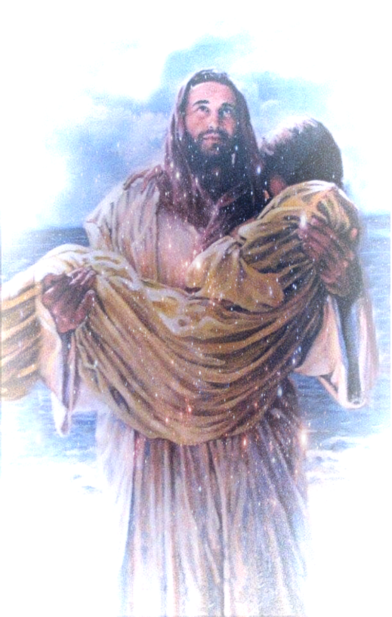 jesus-carried-me-when-i-lost-my-way