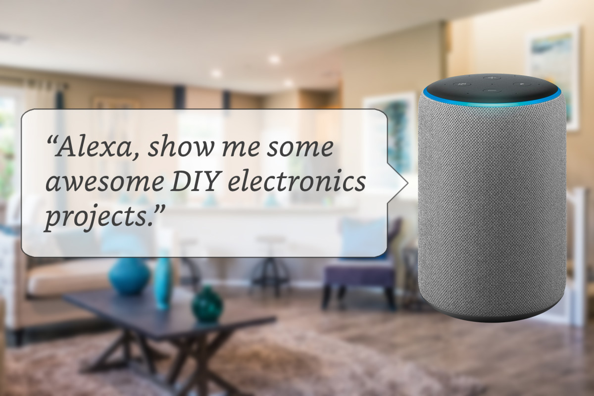 Top 10 Diy Alexa Electronics Projects